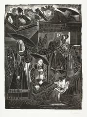 DAVID ET BETHSABÉE (after Lucas Cranach)