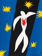 Henri Matisse - Fall of Icarus