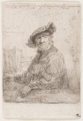 Man in an Arbour