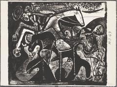 Bullfight.  The Picador