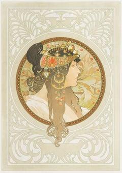 Byzantine Head - Brunette
