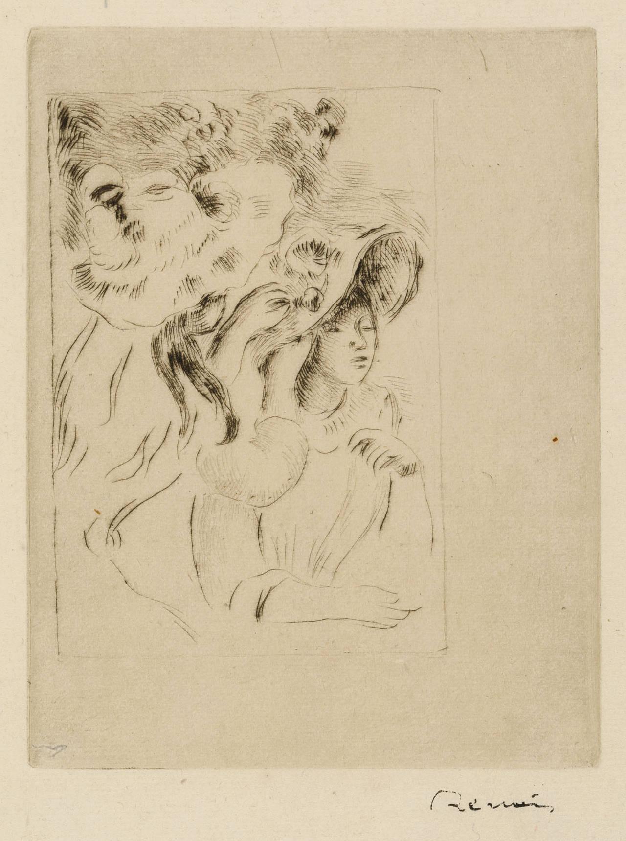 LE CHAPEAU EPINGLE (La fille de Berthe Morisot et sa cousine), 2e planche