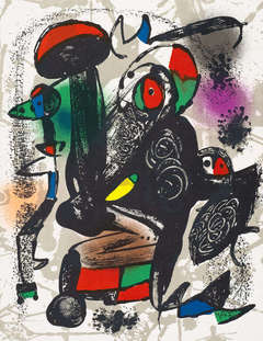 UNTITLED from Joan Miro Lithographes IV