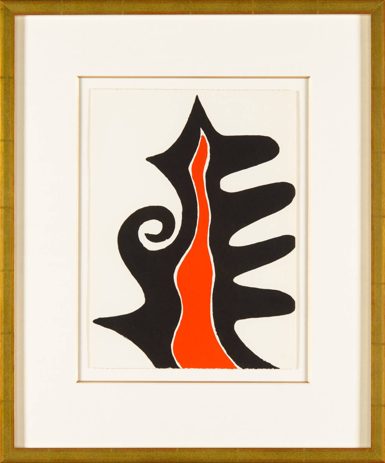 Alexander calder untitled from derri re le miroir print for Derriere le miroir calder