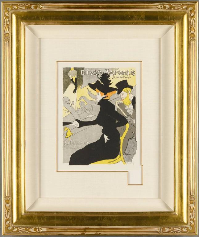 Henri de toulouse lautrec divan japonais print for sale for Divan japonais