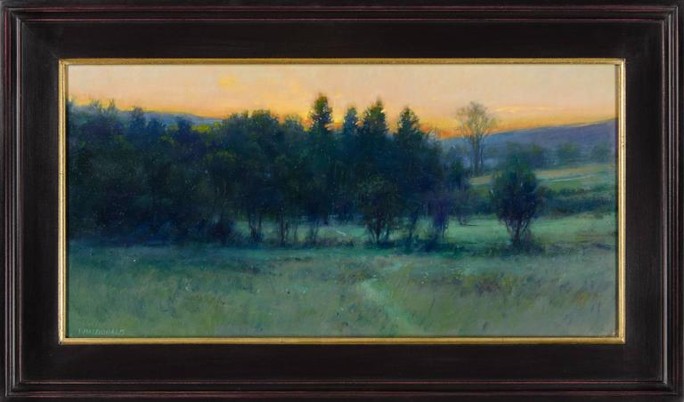 Twilight on the Pastures - Painting by John MacDonald