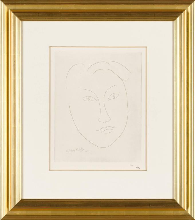 MASQUE DE JEUNE GARCON (Mask of a Young Boy) - Print by Henri Matisse