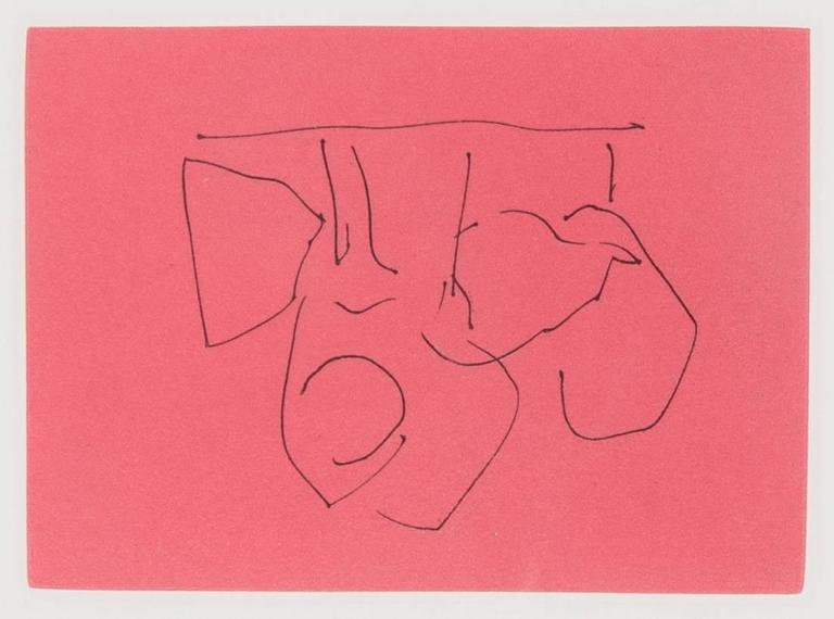 Robert Motherwell Abstract Print - Hades