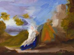 Flight I (after Poussin)