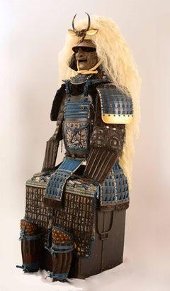 Spectacular Japanese Samurai Armor in the style of a legendary warrior