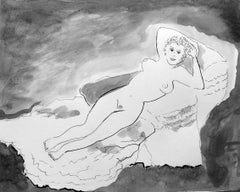 The Naked Maja after Francisco de Goya