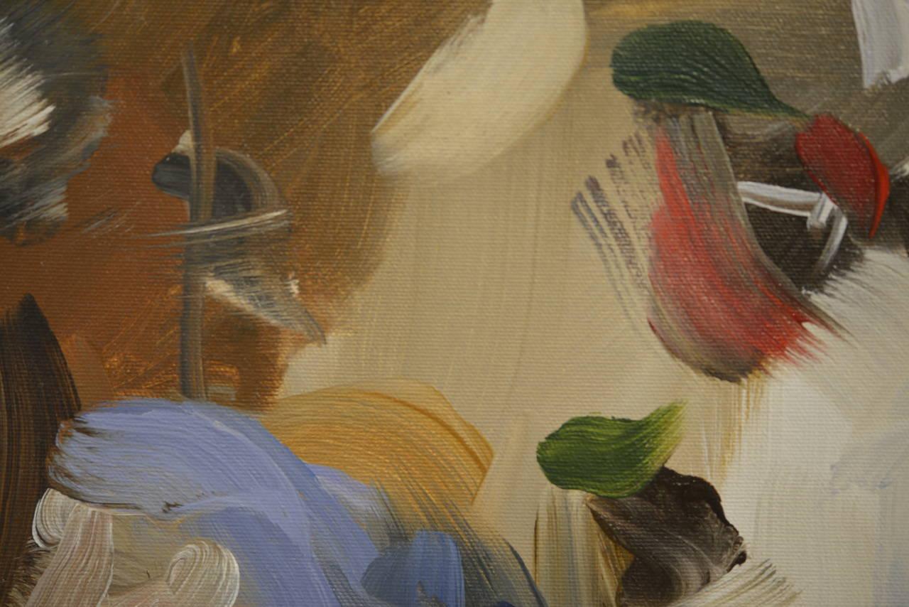 Blue I, (after Bruegel) 2