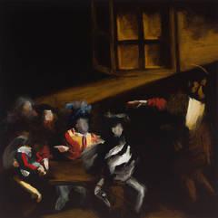Calling V, (after Caravaggio)