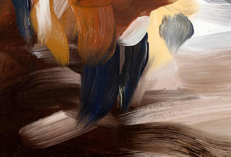 Scipio II (after Tiepolo) - Abstract Expressionist Painting by Elise Ansel