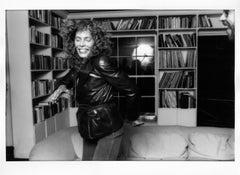 """Joni Mitchell, 11""""x14"""", Silver Gelatin Print"""