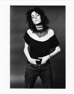 "Patti Smith, 8""x""10, Silver Gelatin Print"