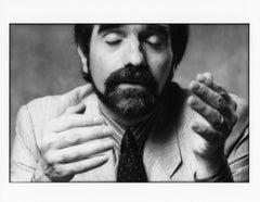 "Martin Scorsese, 8x10"", Vintage Silver Gelatin Print"