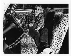 "Joni Mitchell, 8x10"", Vintage Silver Gelatin Print"