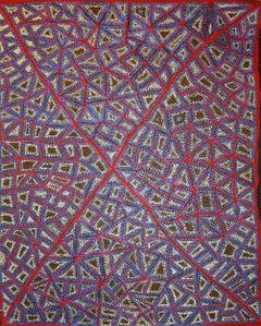 """Kurningka"", Australian Aboriginal Art painting"