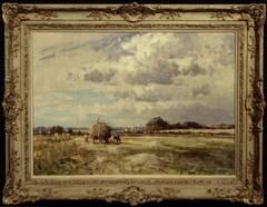 Cating The Marsh Hay
