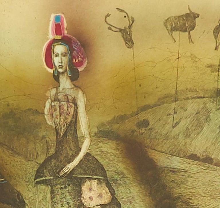 Unknown - Print by Katarína Vavrová