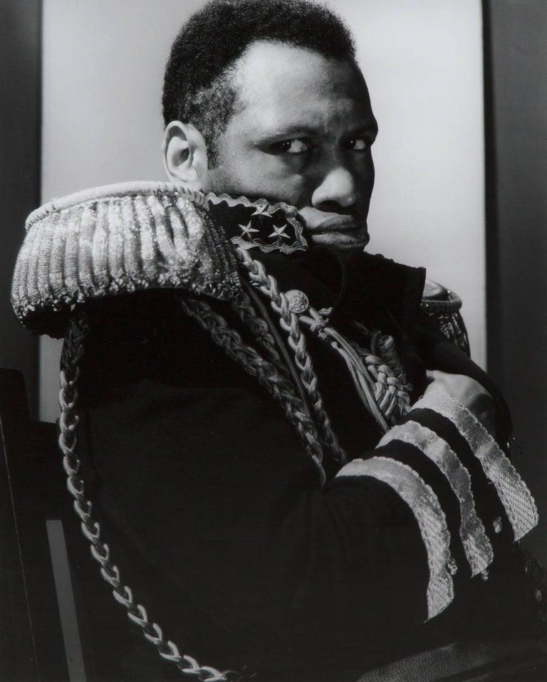 """Edward Steichen Portrait Photograph - Paul Robeson as """"The Emperor Jones"""""""