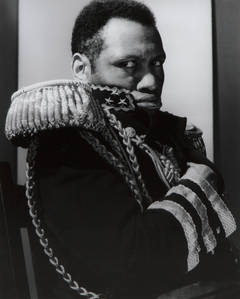 "Paul Roberson as ""The Emperor Jones"""