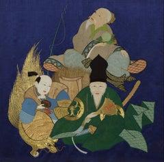 Three Old Men/Japanese Fukusa