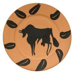 Taureau, Marli aux Feuillies (Bull, Rim with Leaves)
