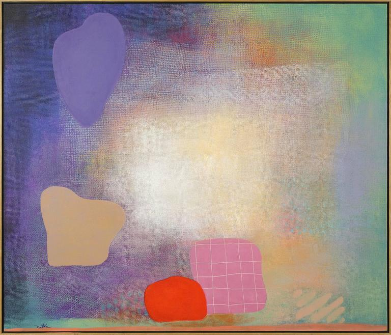 Robert Natkin Abstract Painting - Untitled (#751A)