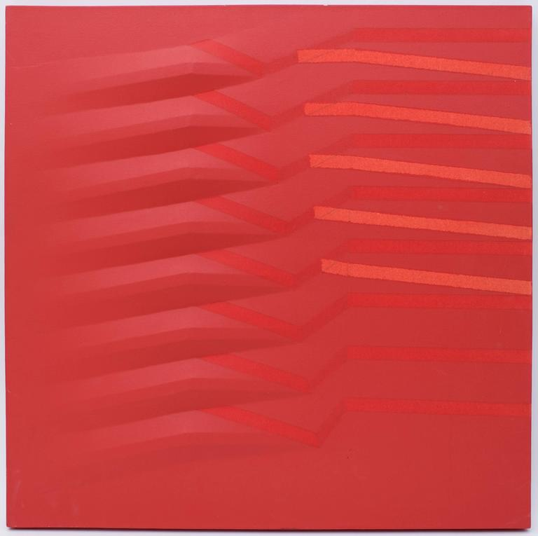 Agostino bonalumi untitled painting at 1stdibs for Hendrickson s fine jewelry