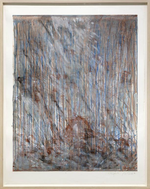 Waterfall 15, 1988, by Pat Steir