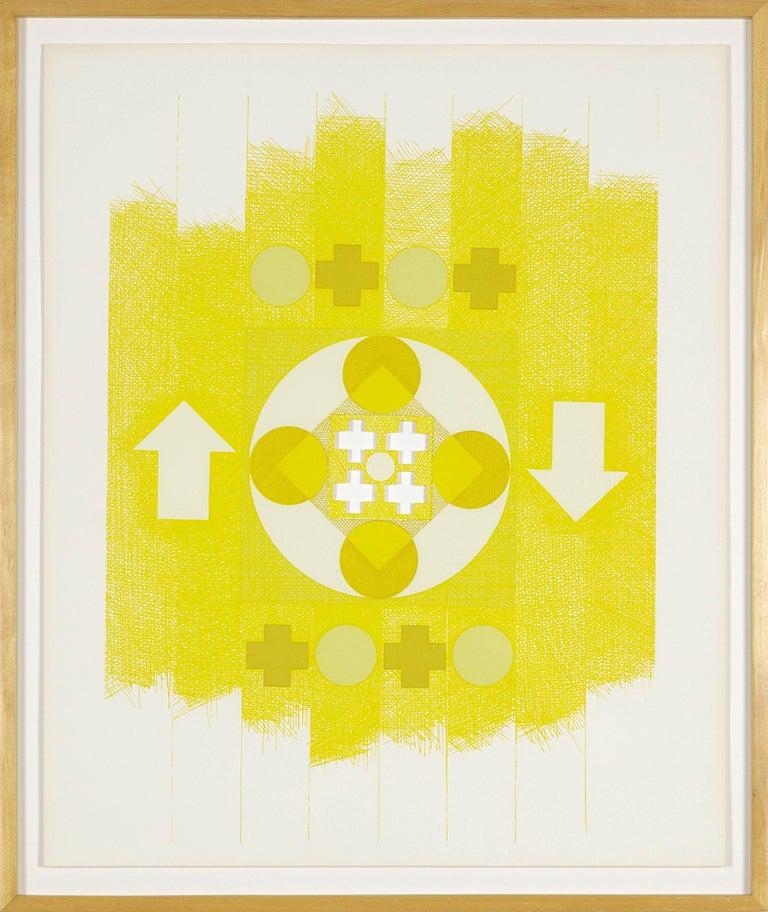George Earl Ortman Abstract Print - Ten Works X Ten Painters