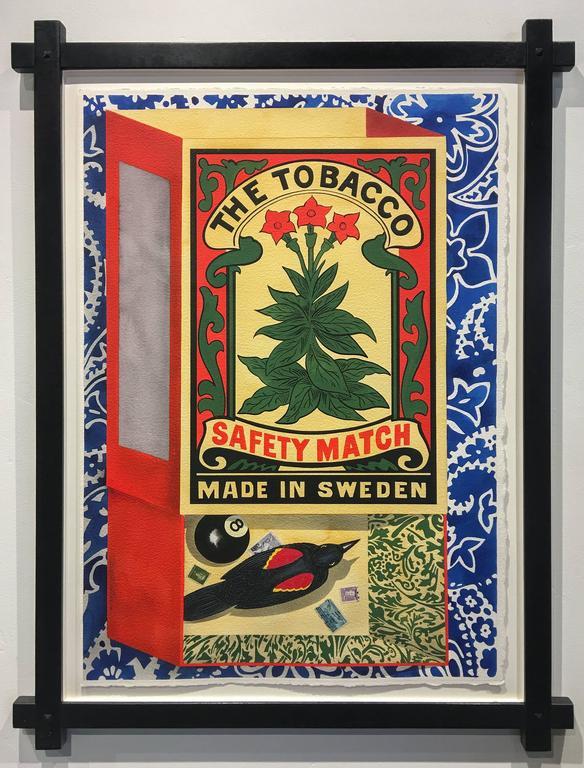 David Wharton Still-Life - Matchbox: The Tobacco Safety Match