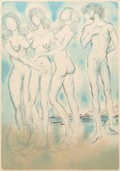 Judgement of Paris (Four Nudes)