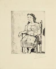 Femme au Fauteuil: Dora Maar