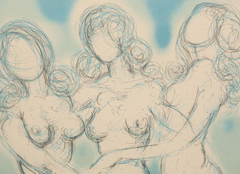 Judgement of Paris (Four Nudes)