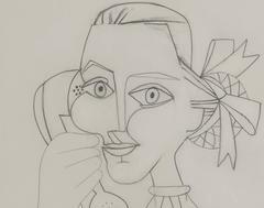 Femme au Telephone (Autoportrait)