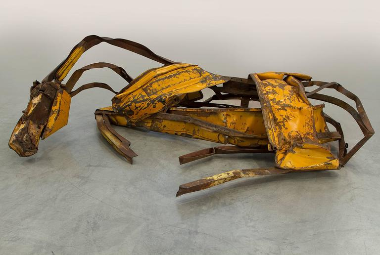 Deborah Butterfield Figurative Sculpture - Yellow River