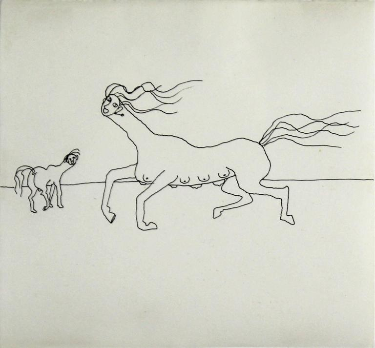 Alexander Calder Figurative Art - Untitled