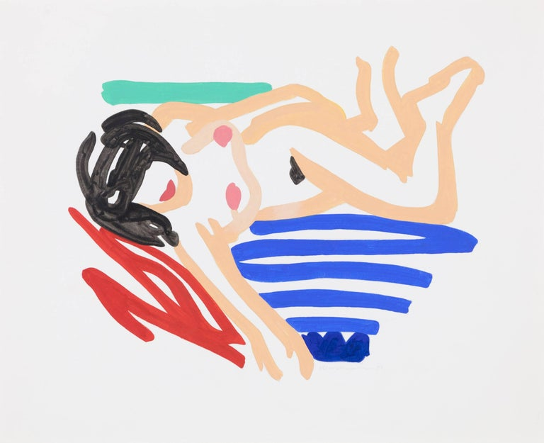 Tom Wesselmann - Study for Nude One Arm Down 1
