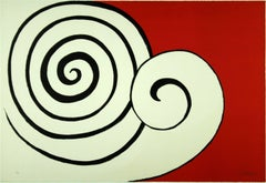 Alexander Calder - Deux Spirales