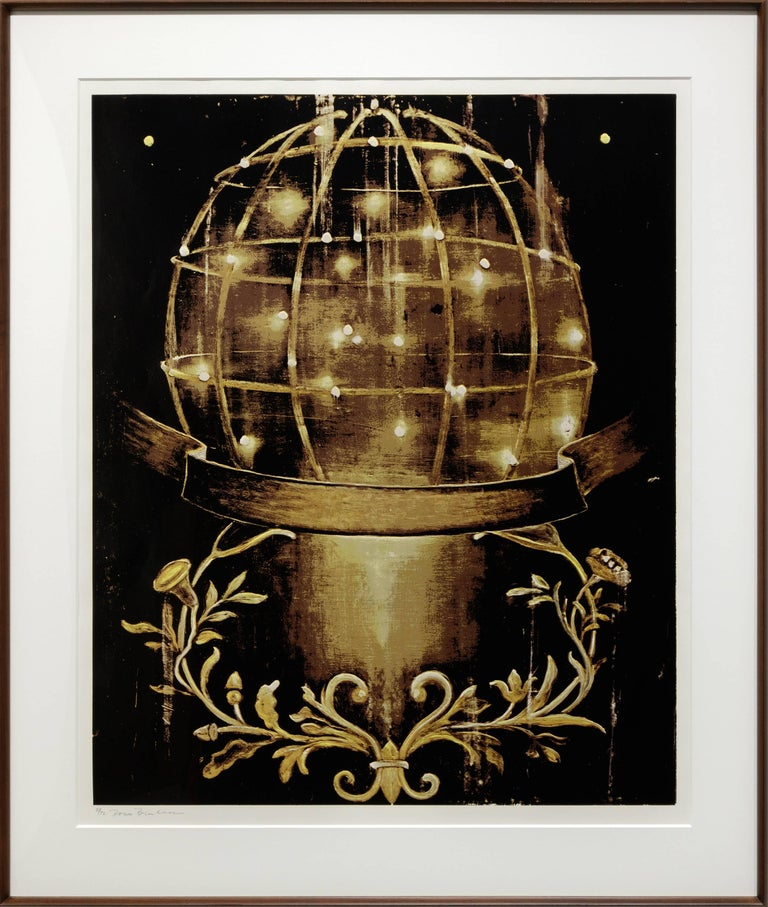 Untitled (Sphere and Moulding)