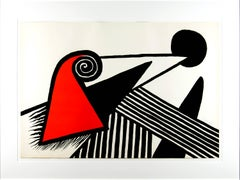 Alexander Calder - Bonnet Phrygienet Barres de fer