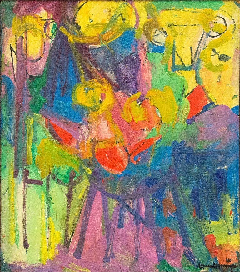 Hans Hofmann Abstract Painting - The Chair