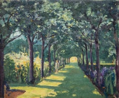 An Avenue at Frinton-on-Sea, Essex with Miss Diana Churchill