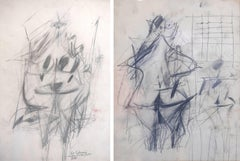 Untitled (double sided drawing)