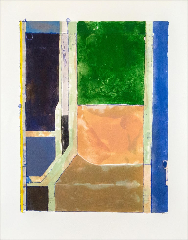 Richard Diebenkorn Abstract Print - Twelve