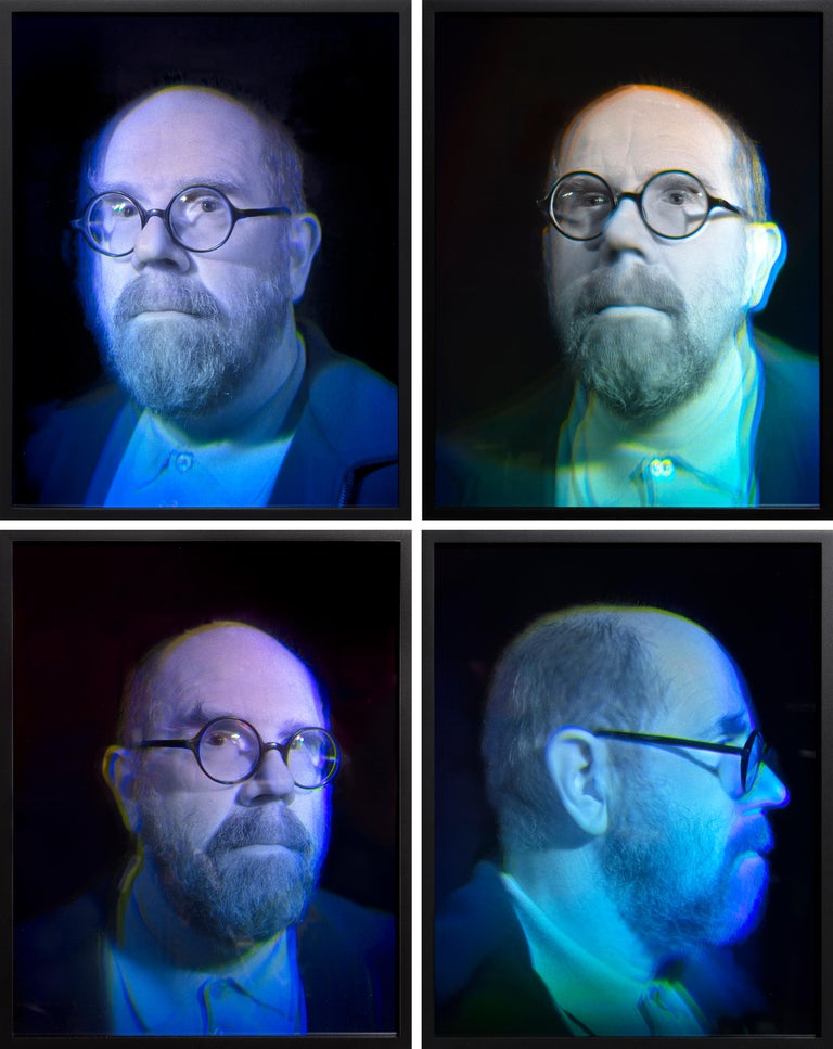 Self Portrait - Art by Chuck Close