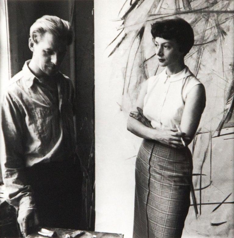Bill and Elaine de Kooning, New York